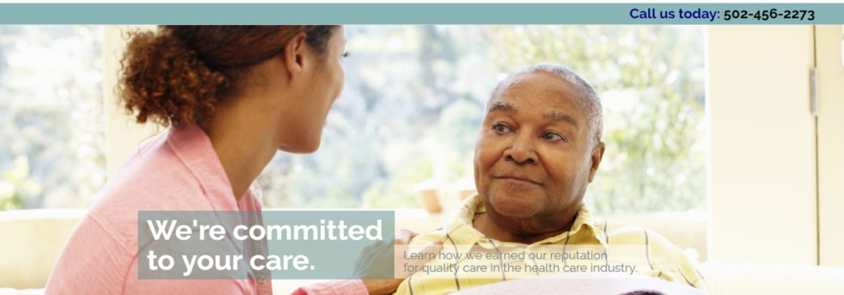 Louisville Home Care Agency Homepage