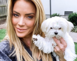 "Real Housewives of Dallas #CaryDeuber with Bella Dolce's ""Tilly"""
