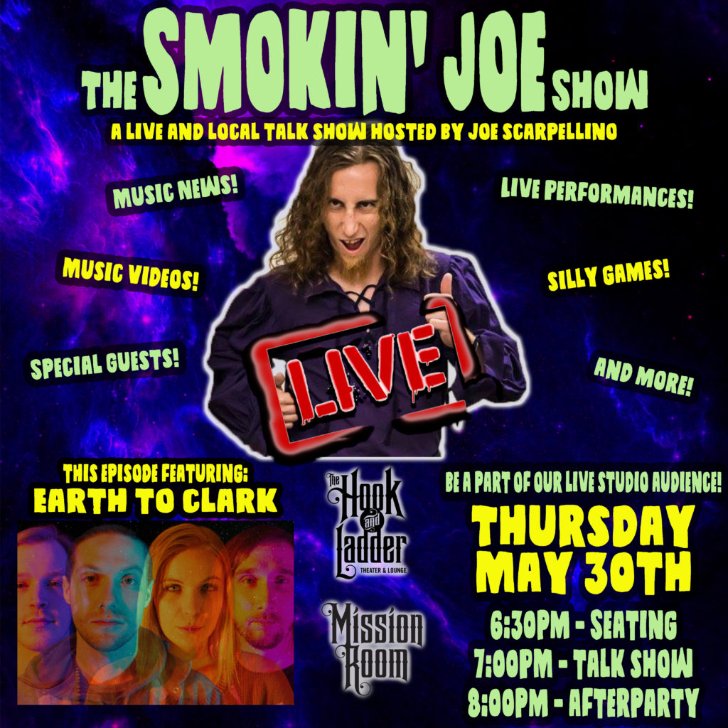 The Smokin Joe Show on May 30 at The Hook and Ladder Mission Room