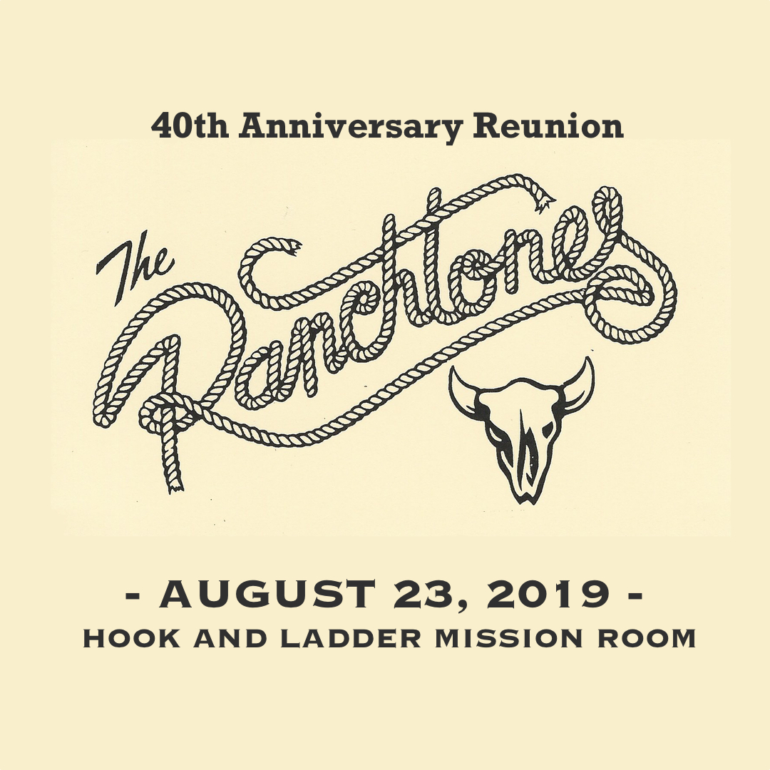 The Ranchtones on Friday, August 23 at The Hook and Ladder Mission Room