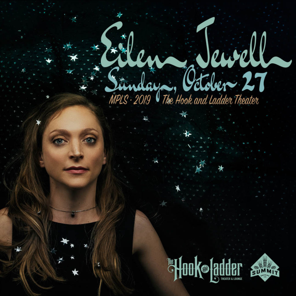 Eilen Jewell on Sunday, October 27 at the Hook and Ladder Theater