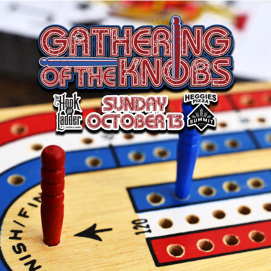 Gathering of The Knobs Cribbage Tournament - Hook Fundraiser on Sunday, October 13 at The Hook and Ladder Theater