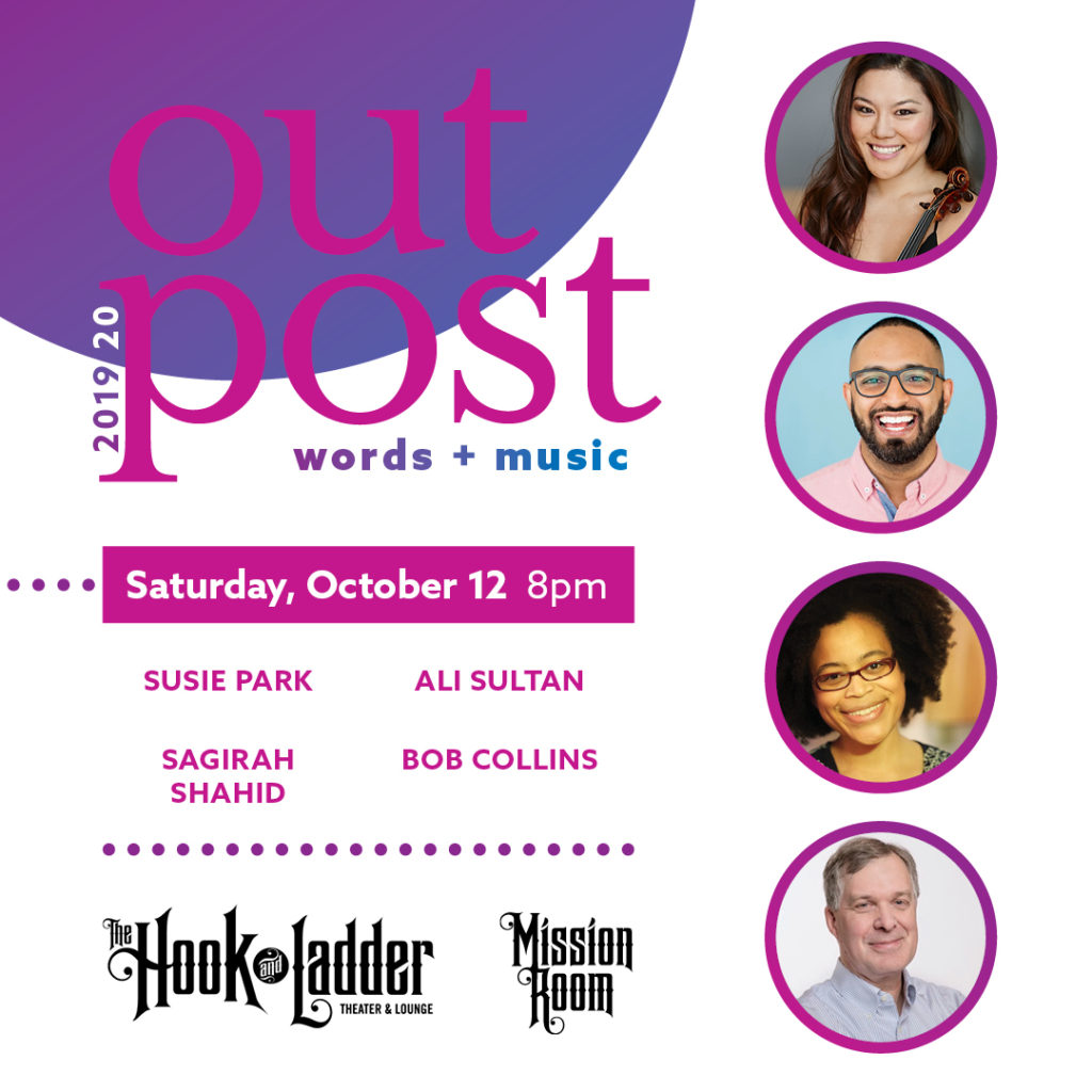Outpost - Words + Music on Saturday, October 12 at The Hook and Ladder Mission Room