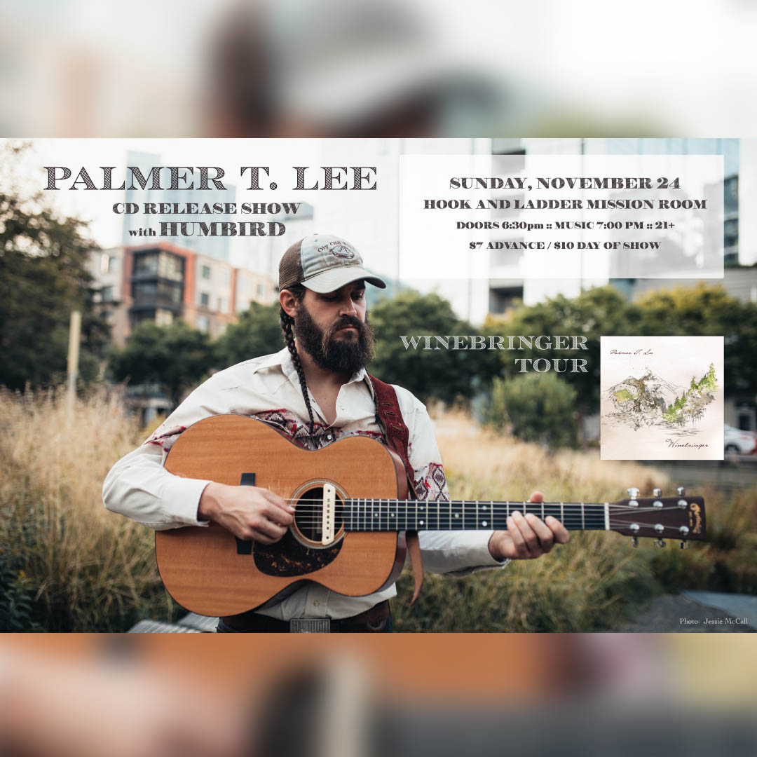 Palmer T. Lee with Humbird on Sunday, November 24 in Mission Room