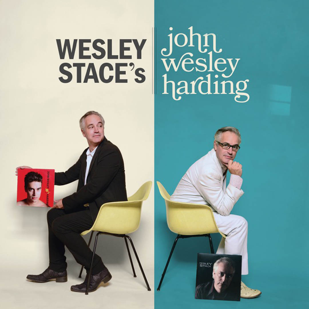 Wesley Stace: A Tribute to John Wesley Harding featuring Robert Lloyd with special guest Dylan Hicks on Wednesday, January 29 at The Hook and Ladder Theater