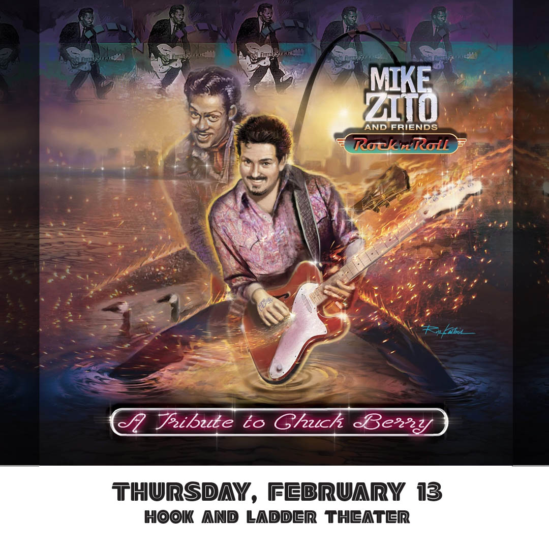 Mike Zito's Big Blues Band - Rock 'n' Roll: A Tribute To Chuck Berry - Thursday, February 13 at Hook and Ladder Theater
