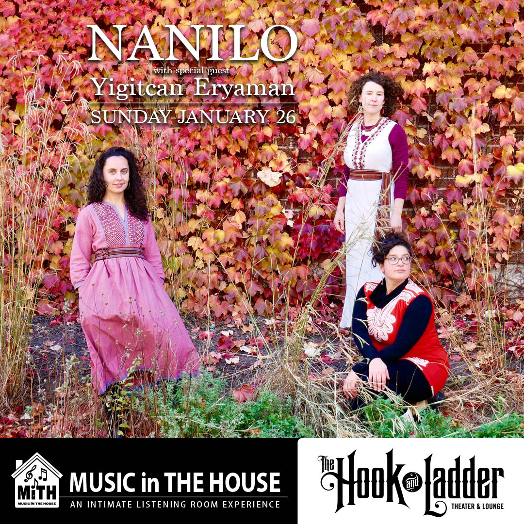 NANILO guest Yigitcan Eryaman - Sunday, January 26 - The Hook and Ladder Mission Room
