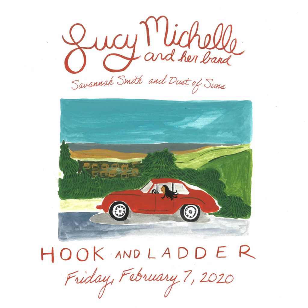 Lucy Michelle, Savannah Smith, Dust of Suns -Friday, February 7, 2020 - The Hook & Ladder Mission Room