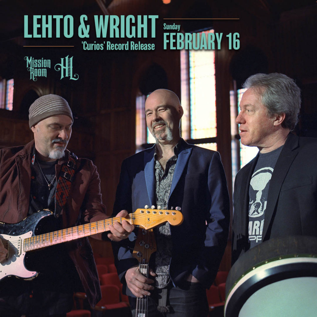 Lehto & Wright - Sunday, February 16 - The Hook and Ladder Mission Room