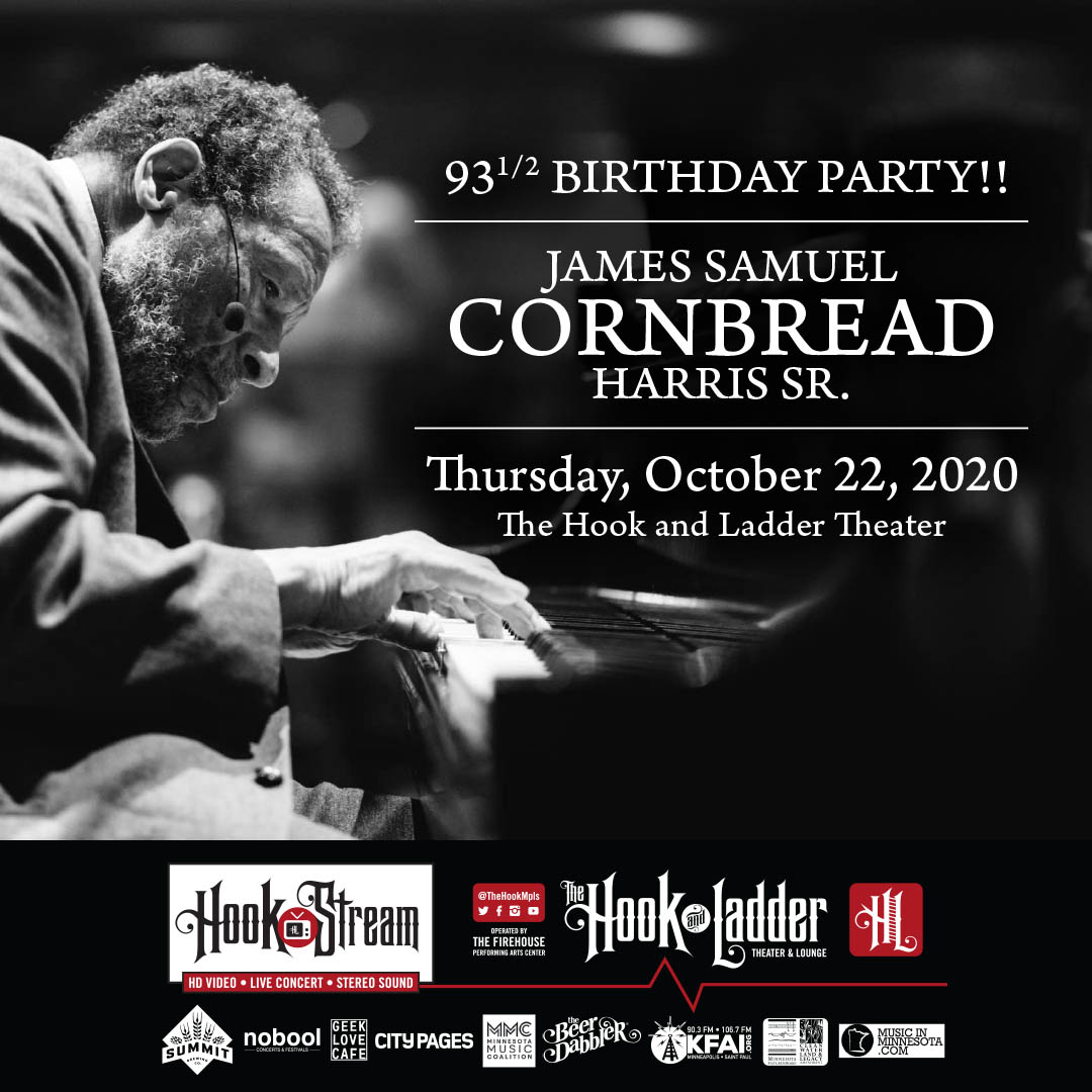 "James Samuel ""Cornbread"" Harris Sr. - Thursday, October 22 - HookStream"