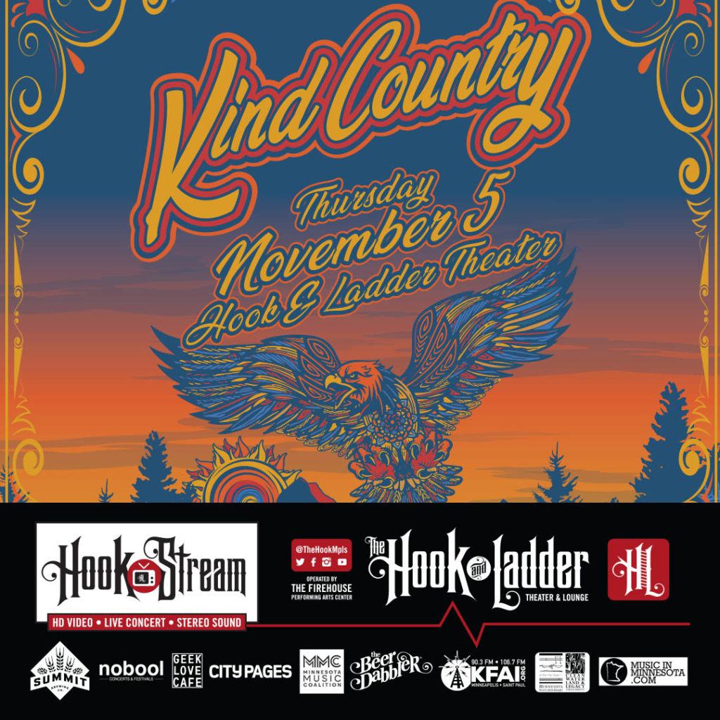 Kind Country - November 5 - HookStream