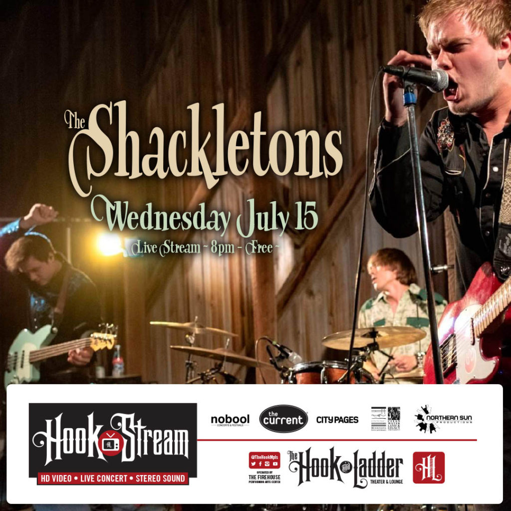 The Shackletons - HookStream - July 15