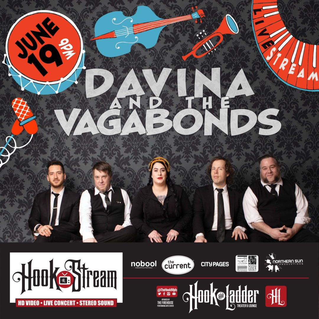 Davina & the Vagabonds - HookStream - June 19