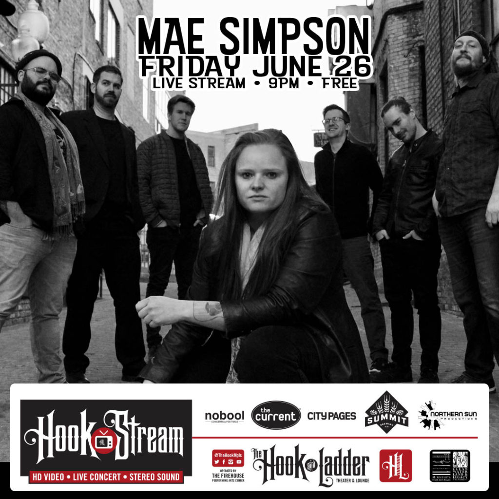 HookStream - Mae Simpson - June 26