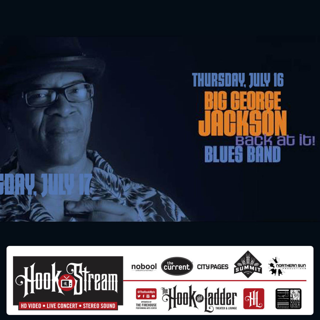HookStream - Big George Jackson - July 16