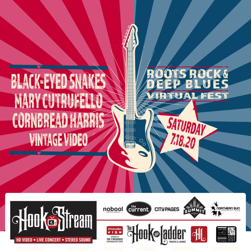 Roots, Rock, & Deep Blues Virtual Festival