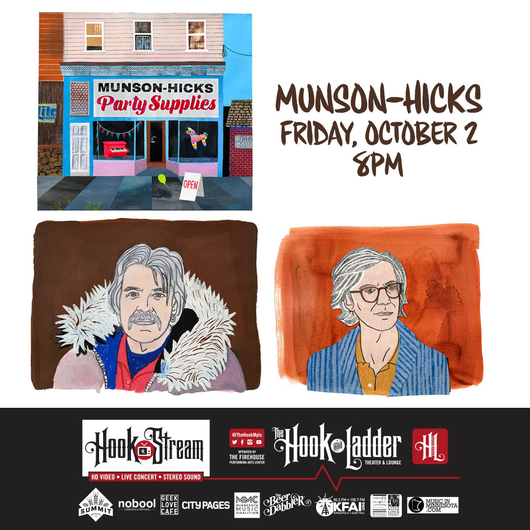 Munson-Hicks Party Supplies Album Release - 10/2/20 - HookStream