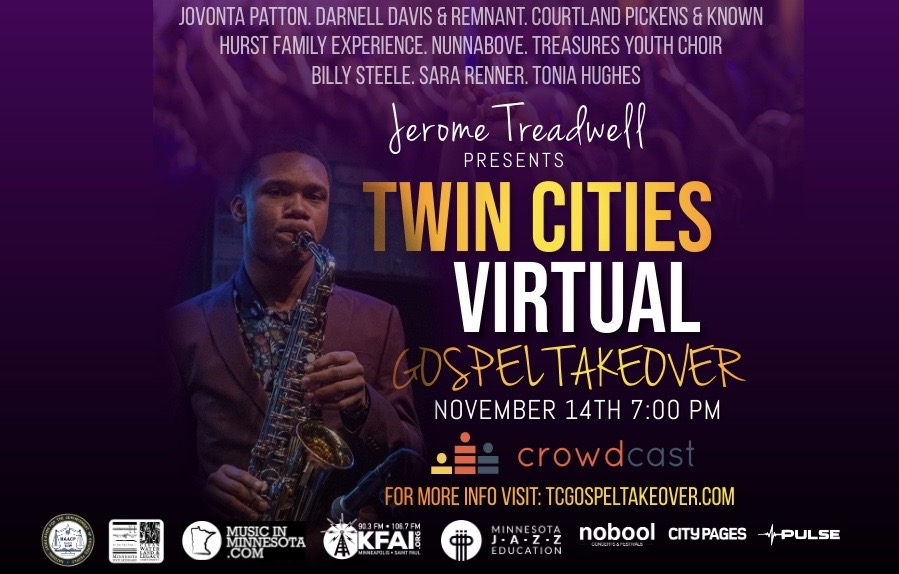 Twin Cities Virtual Gospel Takeover - Saturday, November 14 - #HookStream