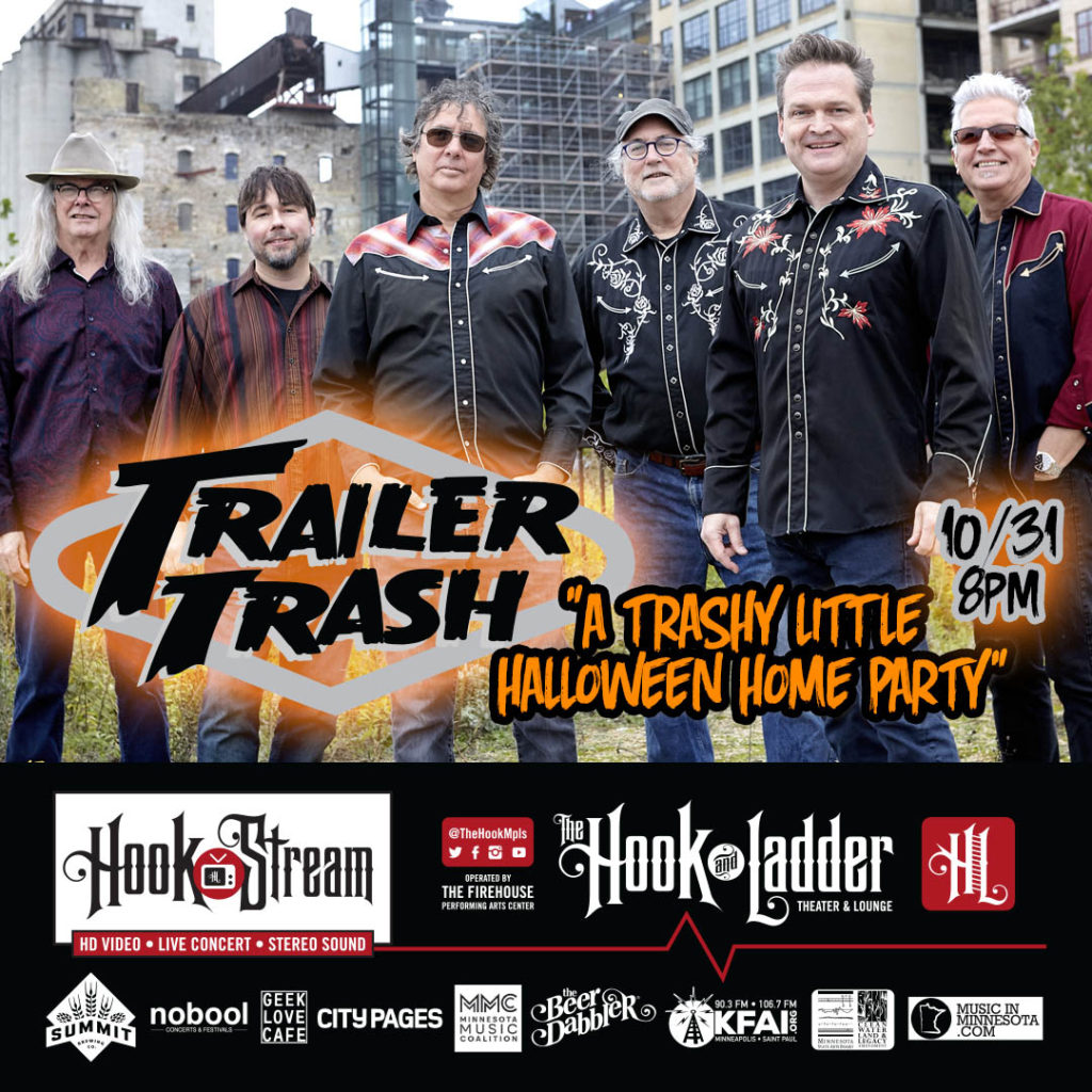"""Trailer Trash """"A TRASHY LITTLE HALLOWEEN HOME PARTY"""" Saturday, October 31"""