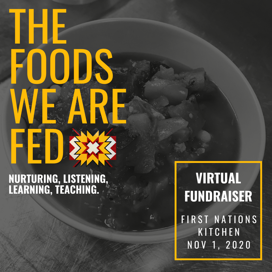 First Nation's Kitchen Virtual Fundraiser - November 1