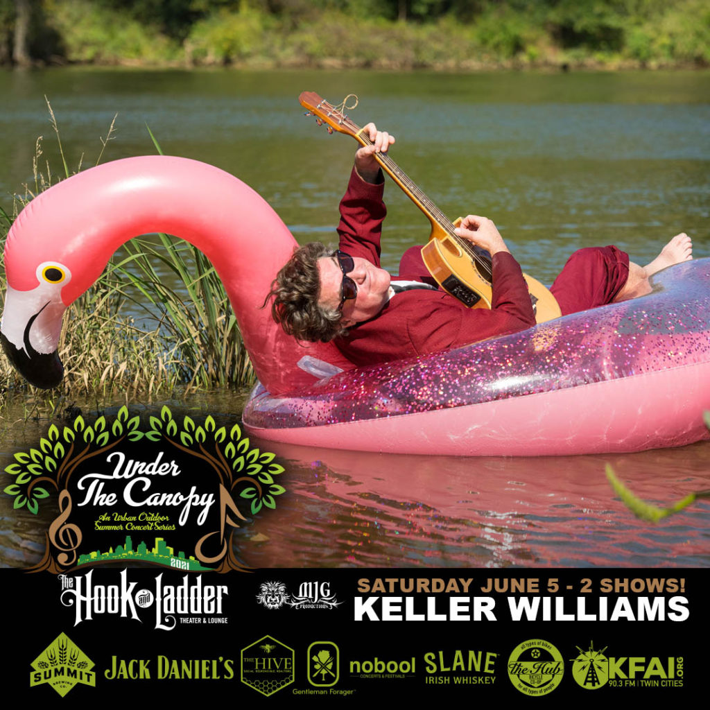 Keller Williams - Under The Canopy at The Hook and Ladder Theater - Saturday, June 5
