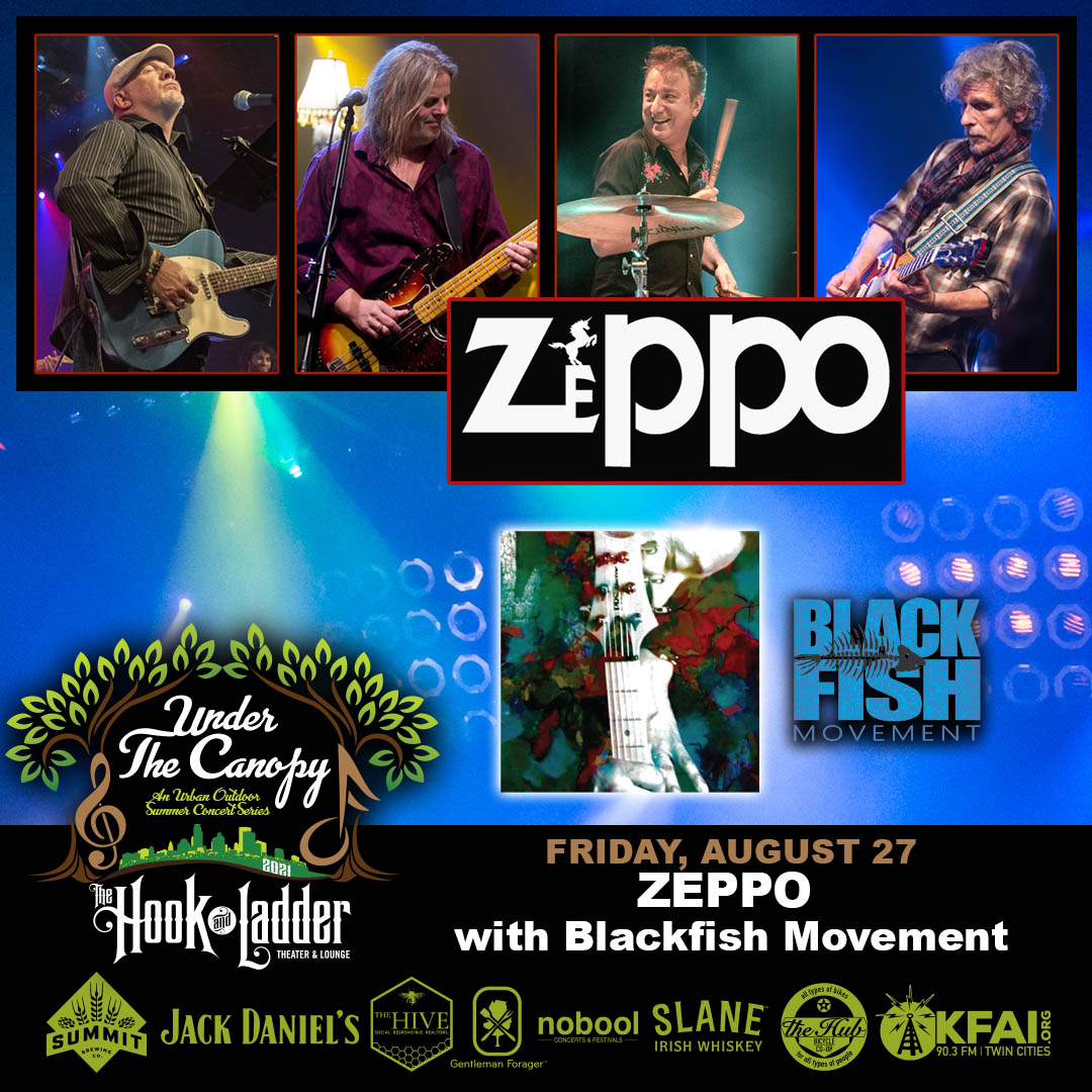 ZEPPO with Blackfish Movement - Under The Canopy at The Hook and Ladder Theater - Friday, July 27
