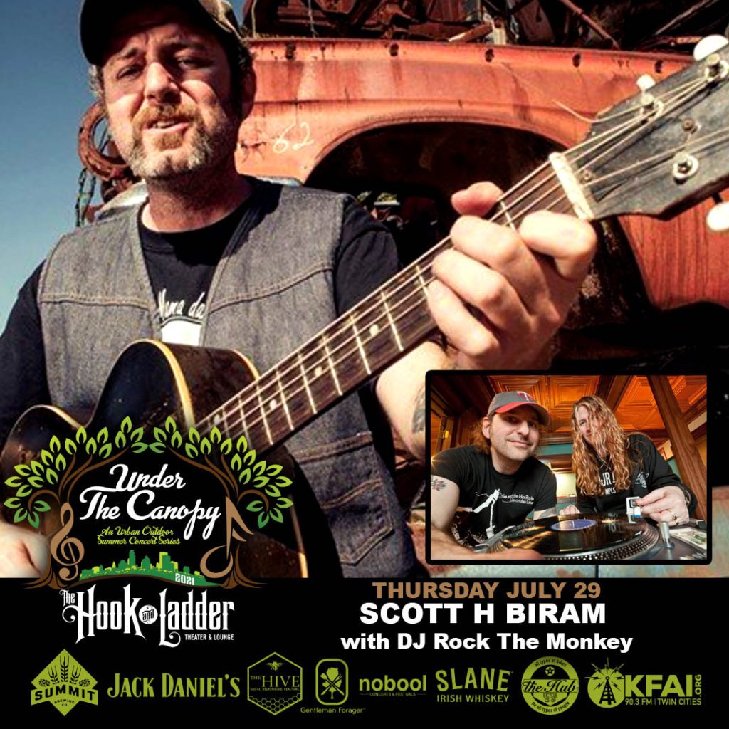 Scott H. Biram - Under The Canopy At The Hook - Thursday July 29