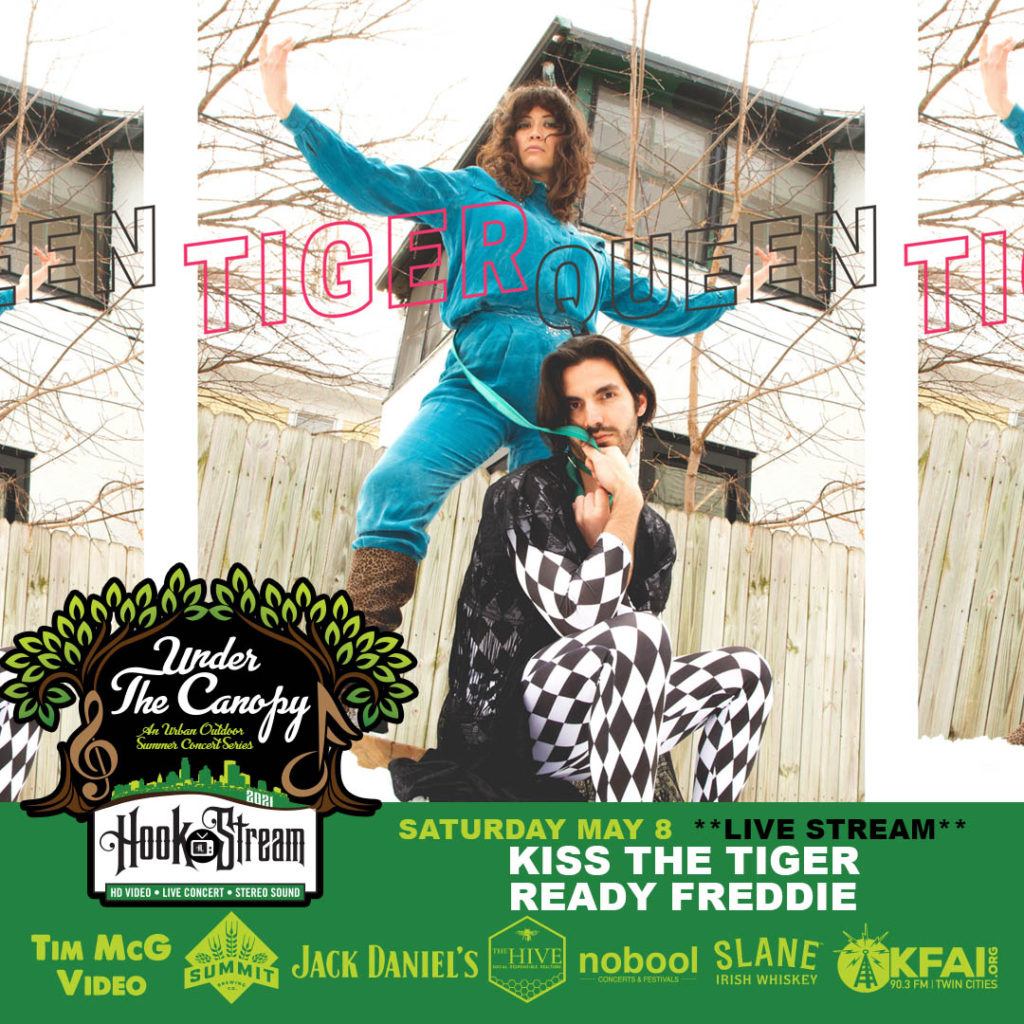 #HookStream - Kiss The Tiger, and Ready Freddie: A Queen Experience - Under The Canopy at The Hook and Ladder Theater - Saturday, May 8