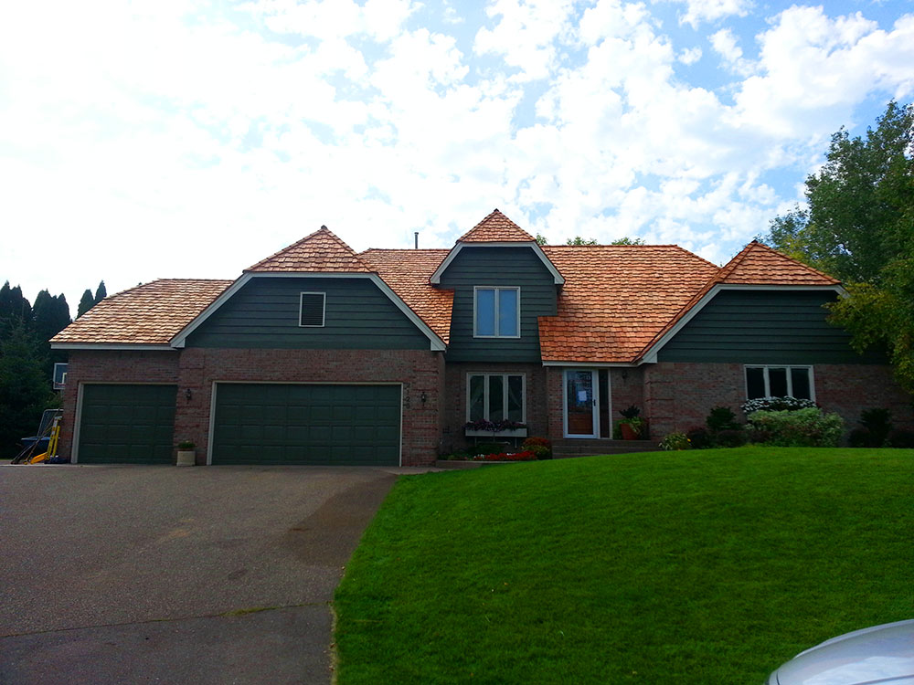 Cedar Shingles installation