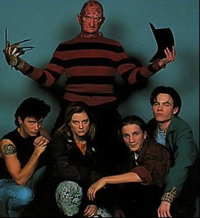 The cast of Freddy's Dead: The Final Nightmare