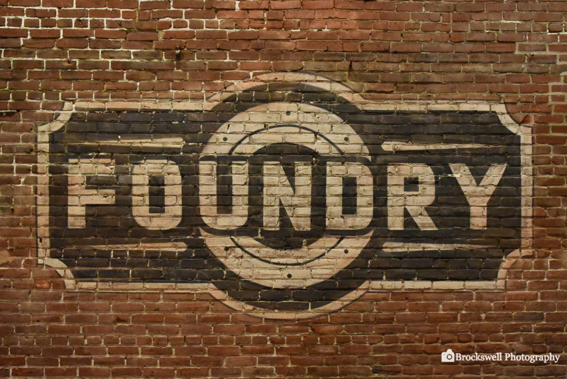 Foundry Sign – 1920