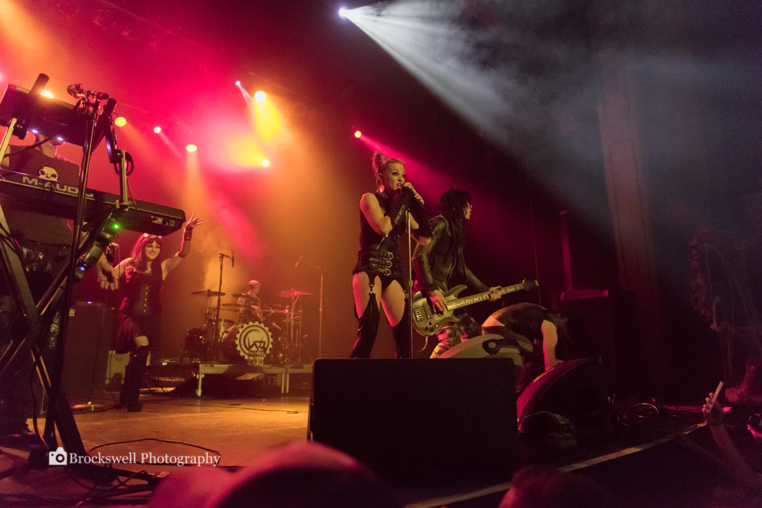 Lords Of Acid performing at The Troc