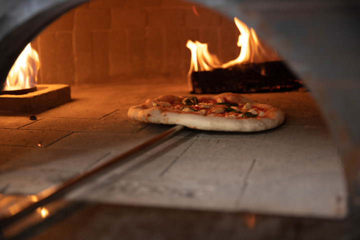 Marra Forni pizza truck #flirtingwithfire at VisionBuilders and Design Spring Soiree 2018