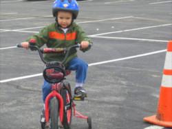 KU Spring Game Bike Rodeo