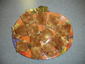 dianes creamy apple squares pic