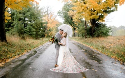 BRIGITTE & TANNER | APPLE CREEK CAMPGROUND | GRASS LAKE, MICHIGAN WEDDING
