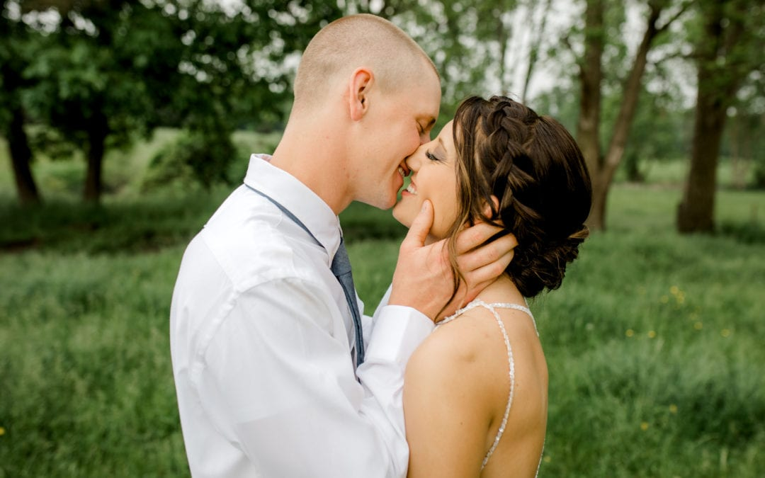 ALEX & JIM | JACKSON, MICHIGAN FARM WEDDING