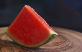 Watermelon slice for dog treat recipe