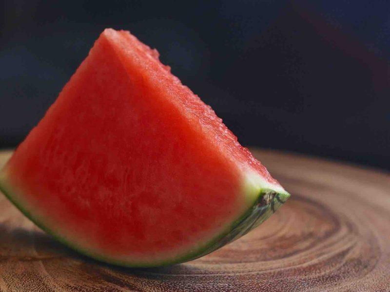 Watermelon slice for dog treat recipe