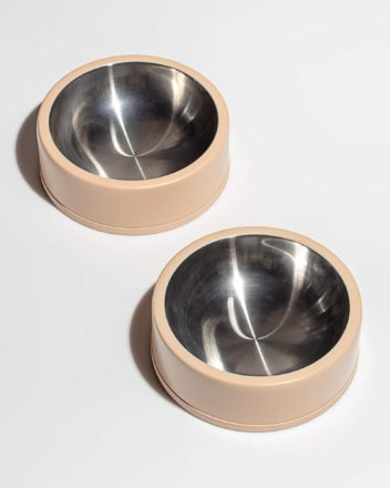 Stylish Stainless Steel Dog Bowls