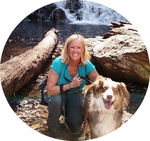 Catawba Falls Lisa and Gunner