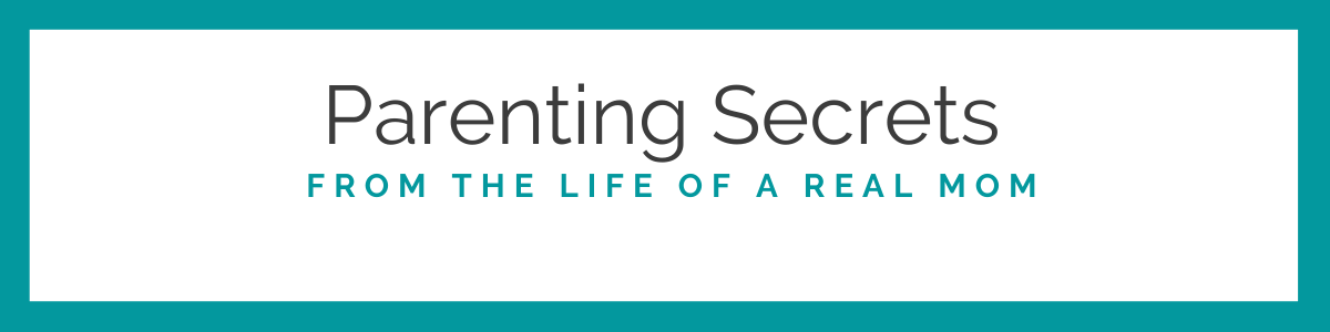Parenting secrets from the life of a real mom logo