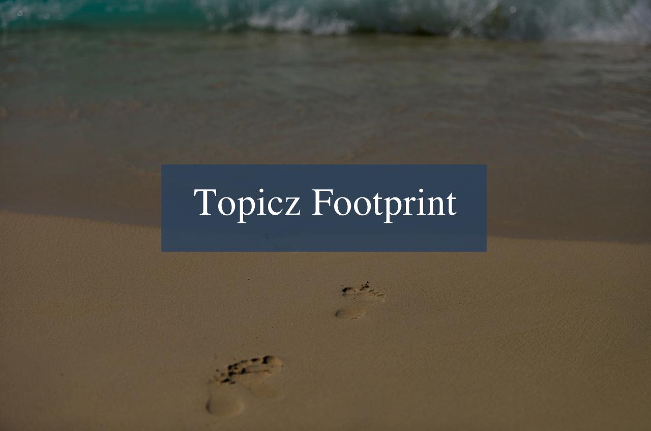 Topicz Footprint Tint