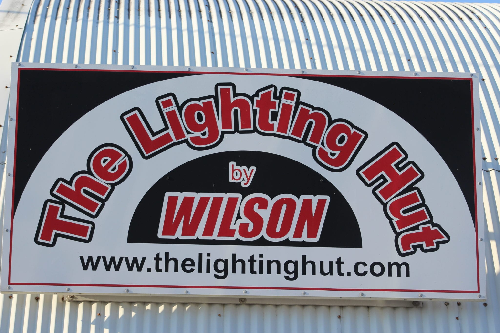 The Lighting Hut. Sister Company of Wilson Electric