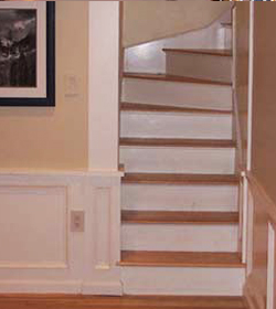 Custom Back Stair Case