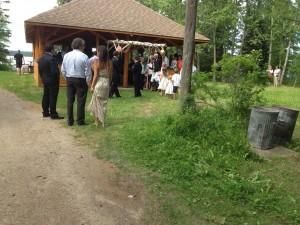 Wedding at Jamboree Hall, July 13, 2013