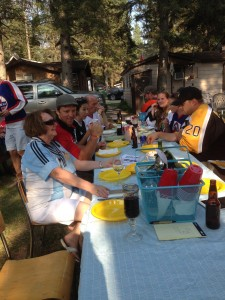 4th & 5th Street North Annual Pot Luck Cook Shack Party August 3, 2014