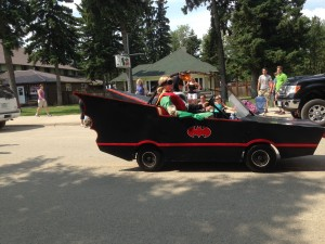 Chamber Days Parade - August 9, 2014 BATMOBILE