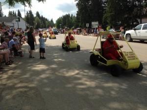 Chamber Days Parade - August 9, 2014 GO CART PATROL, MOOSOMIN, SK