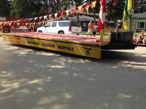 Chamber Days Parade - August 9, 2014 MOOSOMIN SHRINERS